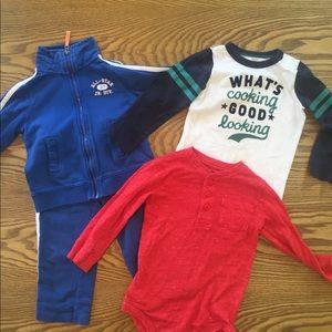 Bundle of Boys Clothes (4 Pieces) 24 Months